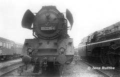"""<p style=""""text-align:center""""> 03 2235 in Belzig anläßlich einer DMV-Sonderfahrt am 09.06.1979 <br><br>Foto: Jens Ruttke</p>"""