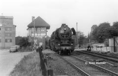 """<p style=""""text-align:center"""">41 1231 in Bernburg-Waldau vor 66703 nach Köthen im Mai 1988 <br><br>Foto: Jens Ruttke</p>"""