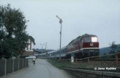 "<p style=""text-align:center"">232 694 mit IC nach Nürnberg in Rothenstein am 02.10.1993 <br><br>Foto: Jens Ruttke</p>"